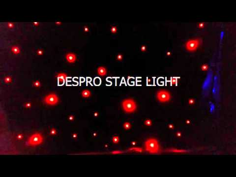 G)Led stage backdrops led star cloth flexible led curtian