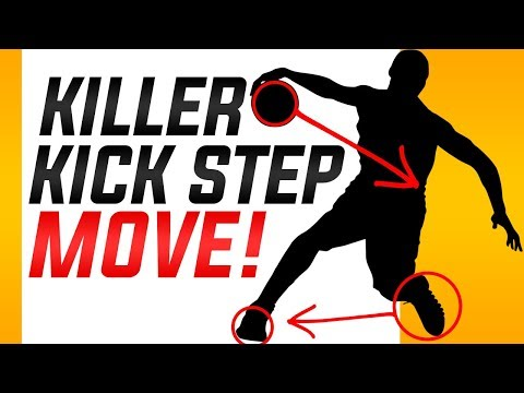 How to: Ankle Breaker Basketball Moves | The Kick Step Crossover Move