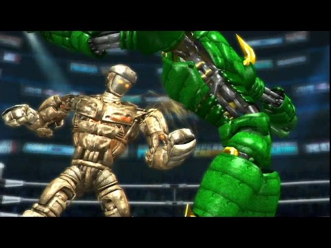 REAL STEEL THE VIDEO GAME XBOX360/PS3-ATOM AGAINST ALL(ЖИВАЯ СТАЛЬ)