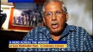 Pakistan war hero honoured at India