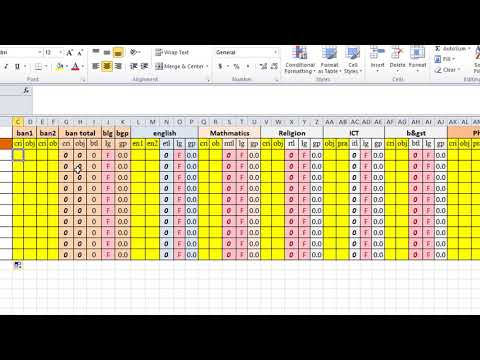 Make Result with progress report In Excel and word (part-1)