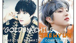 Golden Child Jaehyun english speaking compilation