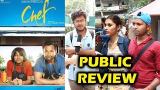 Chef Movie PUBLIC REVIEW - First Day First Show - Saif Ali Khan
