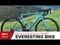 Ollies Everesting Challenge Bike Canyon Ultimate CF SLX