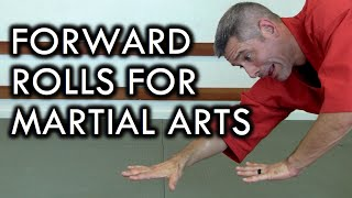 How To Do Forward Rolls For Martial Arts