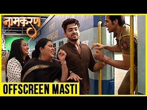Neil Running For Avni Offscreen Masti On The Set Of Naamkaran