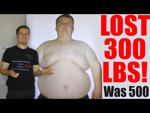 He Lost 300 lbs! His inspiring NATURAL weight loss story