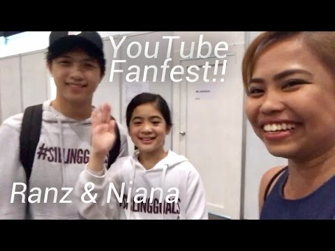 Why I Cried During YouTube Fanfest (Plus I Met RANZ and NIANA!!)