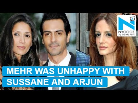 Mehr Jesia got INSECURE with Sussanne-Arjun Rampal growing closeness