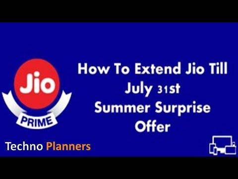 Get JIO Summer Surprise for 3 months after offer end | TRAI order | Last Date
