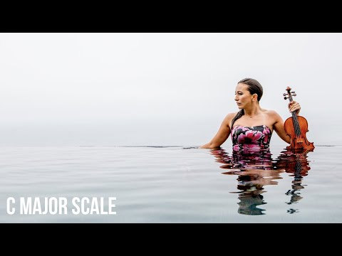 How to Slur 8 Notes In One Bow Stroke On The Violin? (C Major Scale)