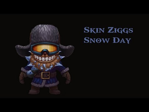 Pre-Release - Snow Day Ziggs - Skin Spotlight