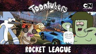 Mordecai e Rigby vs Musculoso e Fanstasmão: O JOGO DO SÉCULO   Toontubers   Cartoon Network