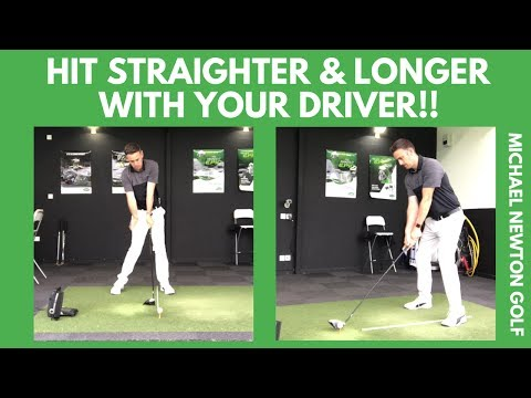 Hit Your Driver Long And Straight Swing Tip