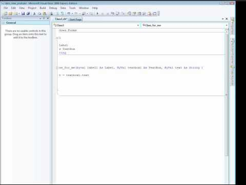 explain How To create a Visual basic Dll file(Part2)