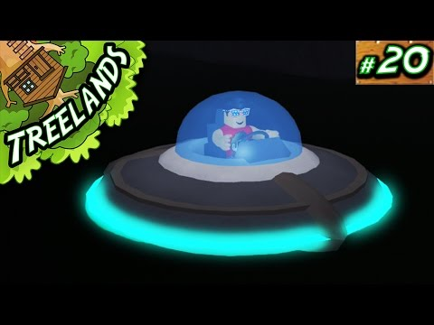 Treelands Ep. 20: Flying a UFO!! | Roblox