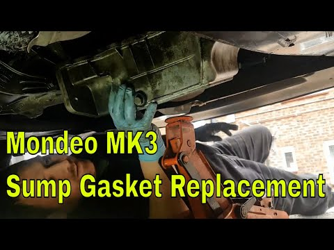 How to Replace a Sump Gasket Ford Mondeo MK3 ST220