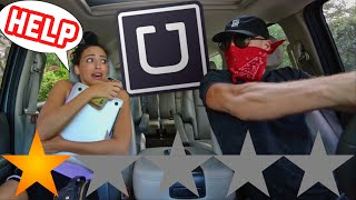 Download PICKED UP MY GIRLFRIEND IN AN UBER UNDER DISGUISE! *SHE GOT OUT* Video