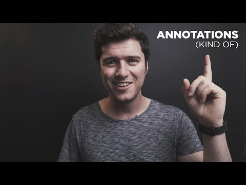 You can still (kind of) make ANNOTATIONS on YouTube in 2018!
