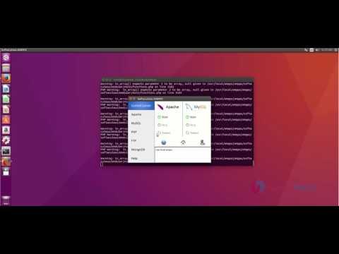 How to install Ampps web server in Ubuntu