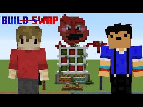 Minecraft Build Swap! Ft. Taurtis (Original)