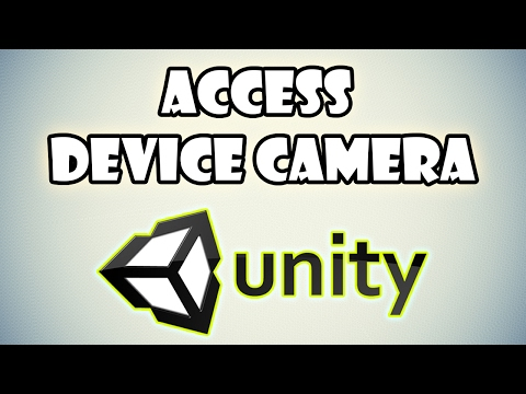 Access Device Camera in Unity 3D