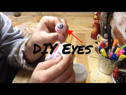 DIY Prop Eyes How to make eyes for your Halloween prop
