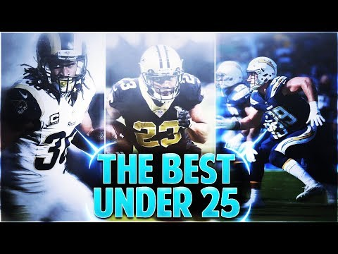 THE TOP 25 BEST NFL PLAYERS IN THE LEAGUE UNDER 25 YEARS OLD! Madden 18
