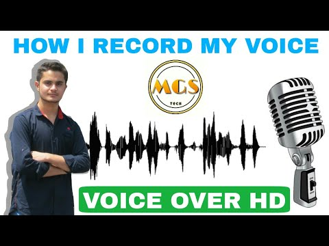 How to record hd voice in video ! MGS Tech ! Background music