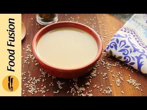Tahini Paste Recipe By Food Fusion