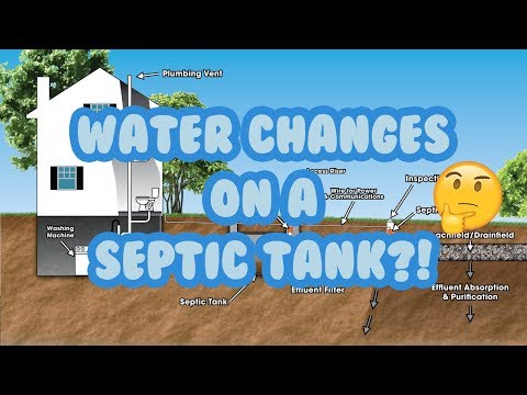 How to dispose of saltwater with a septic tank
