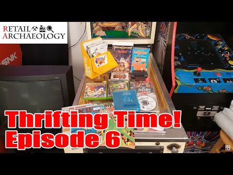 Retail Relic Hunting At Goodwill: Video Games, Comics, & VHS Tapes! | Retail Archaeology