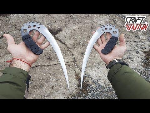 The Chronicles of Riddick Ulak Knife How to make DIY