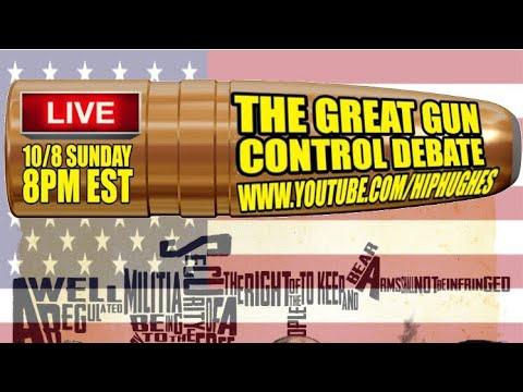 The Great Gun Control Debate (A Live Streamed Conversation)