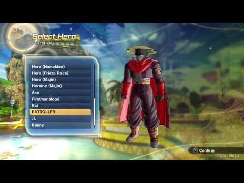 Dragon Ball Xenoverse 2 Closed Beta (PS4) - Xenoverse 1 Patroller Transfer