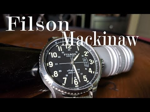 FIlson Mackinaw Watch Review : A 200m WR Field Watch ( Shinola )
