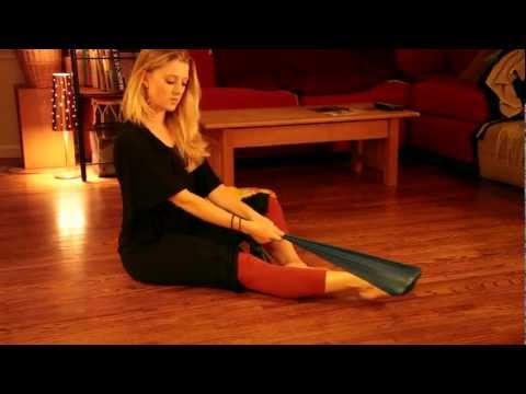 Ask a Ballerina- Nikki's Theraband Exercises for Pointe