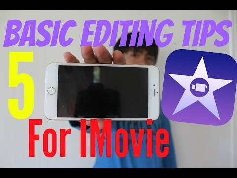 5 IMOVIE EDITING TIPS & TRICKS ON IPHONE 7 PLUS/IPAD 2016