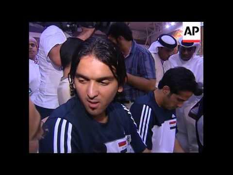 Iraqis in Dubai turn out toast Iraqi football team
