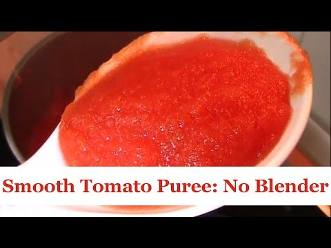 Cooking Hacks: Make Smooth Tomato Puree Without a Blender | All Nigerian Recipes