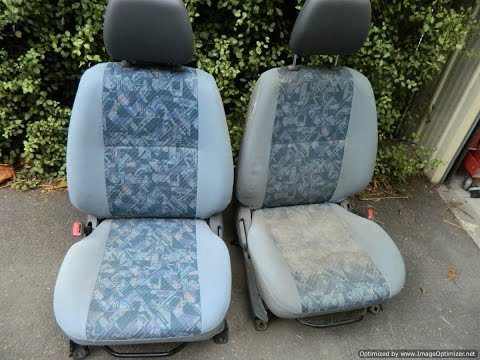 How to clean car seat upholstery for about a dollar