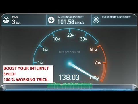 How to Boost Internet Speed. Jio & Other ISP. 100% Working Trick. [ Hindi Tutorial ]