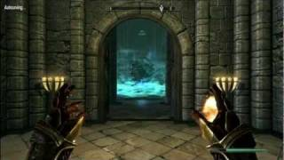 Skyrim Tes V Labyrinthian Dungeon Finding The Staff Of Magnus To Fina