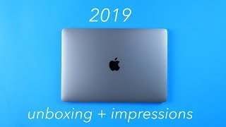 2019 MacBook Pro: Unboxing and Impressions