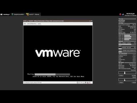 Installing CentOS 7 with Gnome Desktop on VMware 12.5