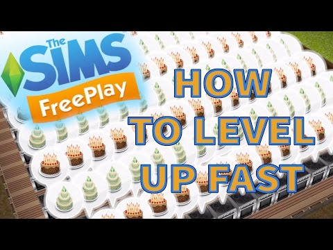 Sims Freeplay | How to level up fast & gain simoleons