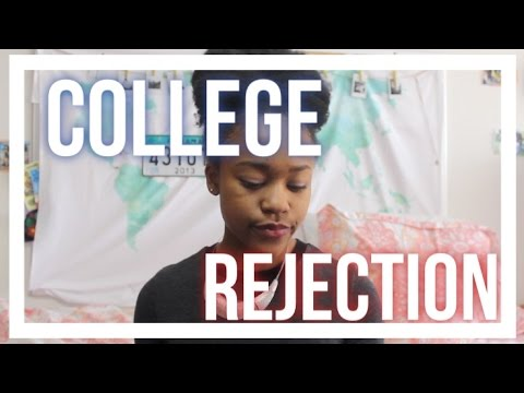 How to Deal with a College Admissions Rejection