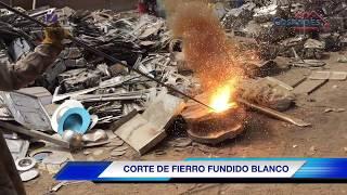 CORTE FIERRO FUNDIDO BLANCO