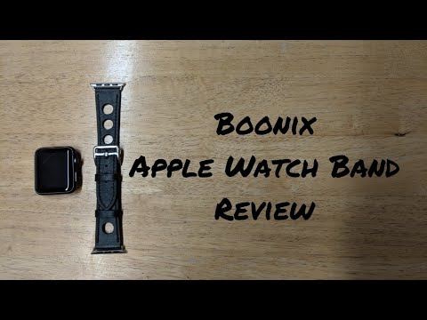 Boonix apple watch band review