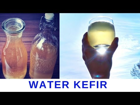 How to make water kefir - 1th ferment - healthy probiotics